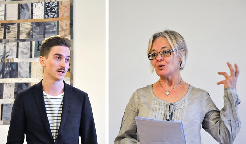 Jonas Valfridsson och Mona Gunnarsson