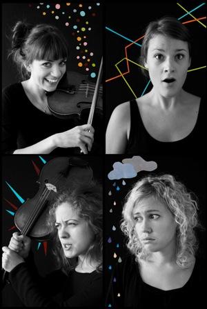 Malvakvartetten. Foto: Emelie Zetterberg