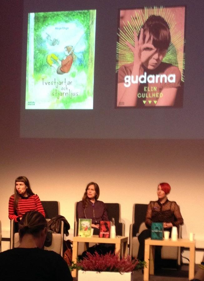 Elin Cullhed på bokmässan i Göteborg
