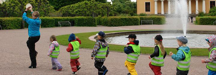 Dans i Botaniska trädgården. Foto: Charlotte Björck