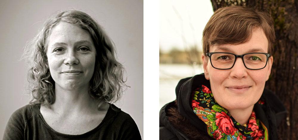 Henny Linn Kjellberg och Susanne Johansson