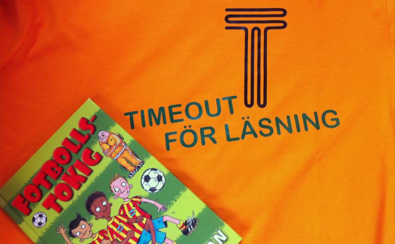 Timeout för läsning. Projekt för att stärka barns och ungas läslut