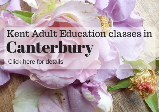 Flower arranging classes in Canterbury