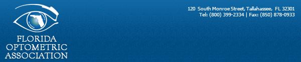 Florida Optometric Association E-mail header