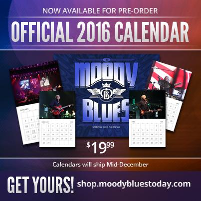 Pre-Order the 2016 Moody Blues Calendar