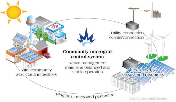 Community Microgrid System