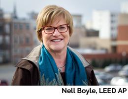 Nell Boyle, LEED AP