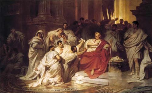 Карл Теодор Фон Пилоти. Убийство Цезаря
