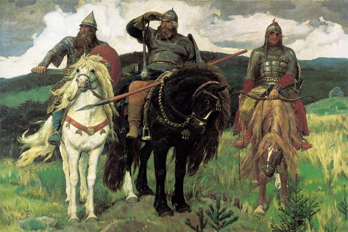 Виктор Васнецов, «Три богатыря»
