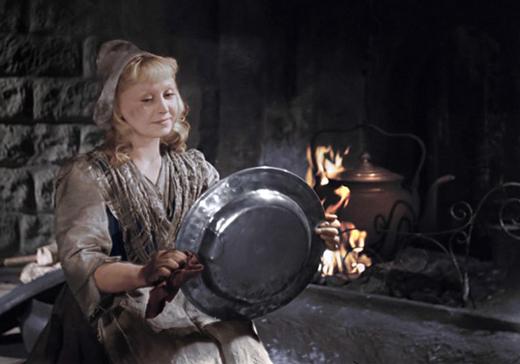 Кадр из фильма золушка