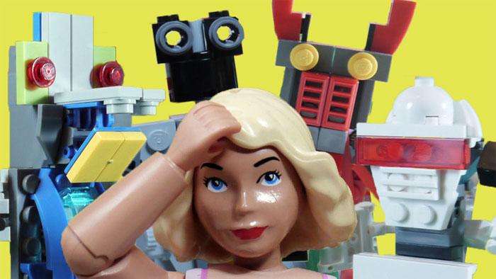Робот. Фото — Дэвид Пикетт