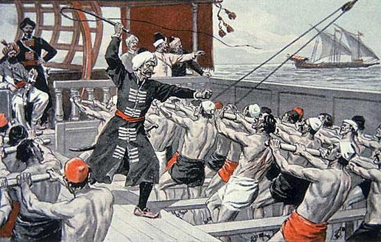 Рабы на галерах