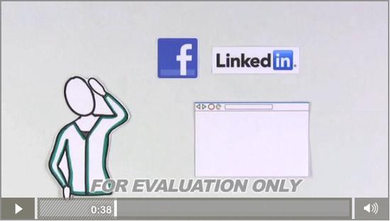 Видео о соцсетях