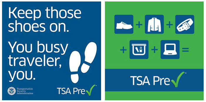 Get travel perks with TSA Precheck