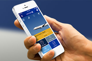 Use the United app to reduce travel stress.