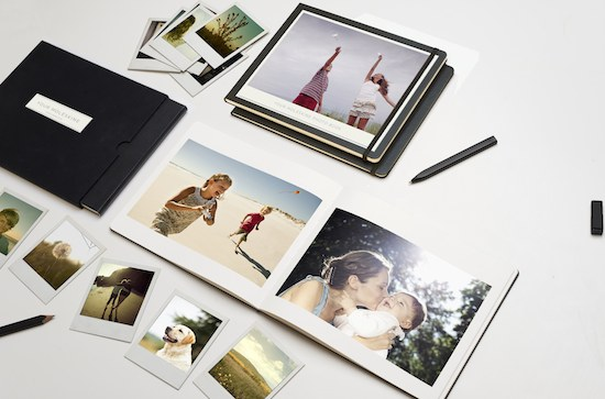 A MOLESKINE + MILK Photo Book