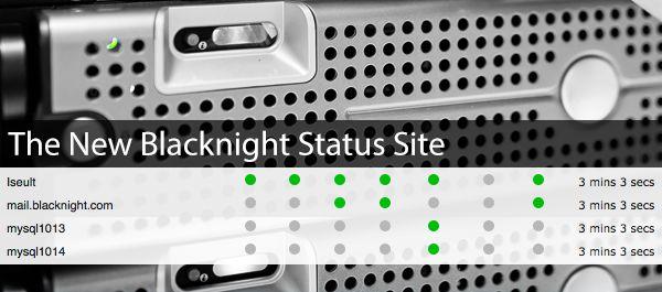 The New Blacknight Status Site