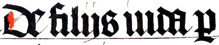 [blackletter from the Middle Ages]