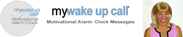 Video News Release About My Wake Up Call Motivational Alarm Clock Messages