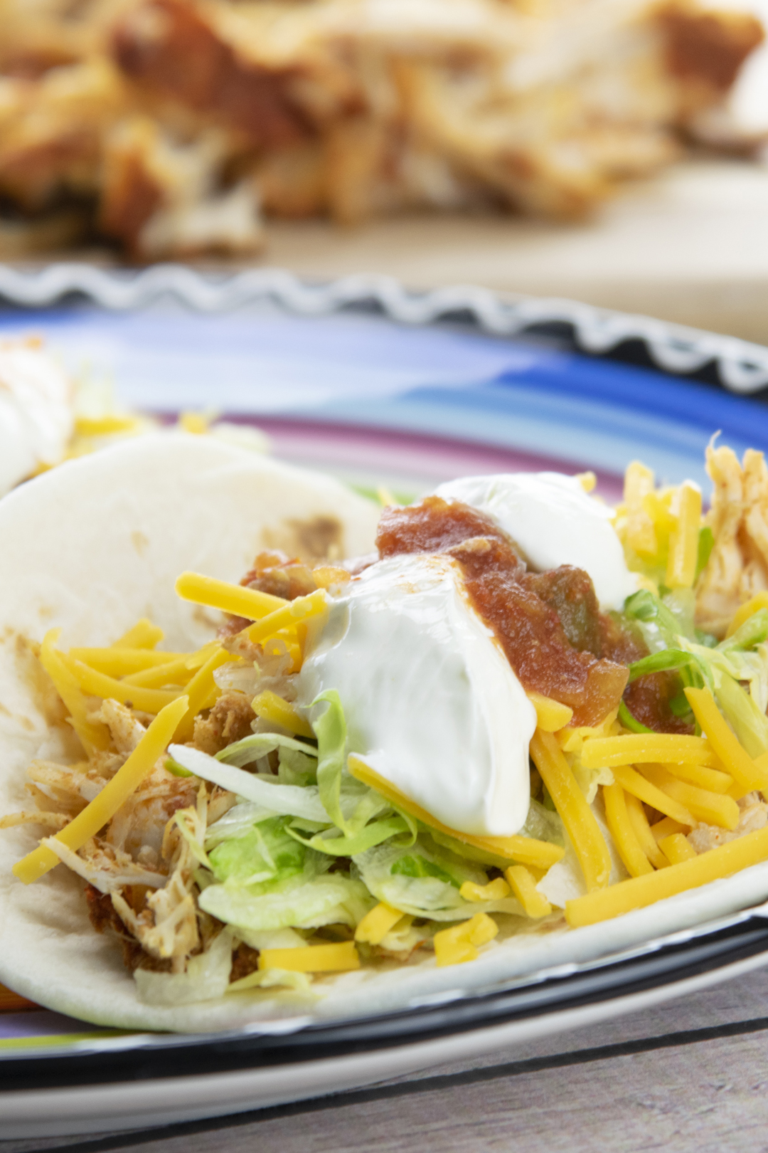 Pace Slow Cooked Shredded Chicken Tacos