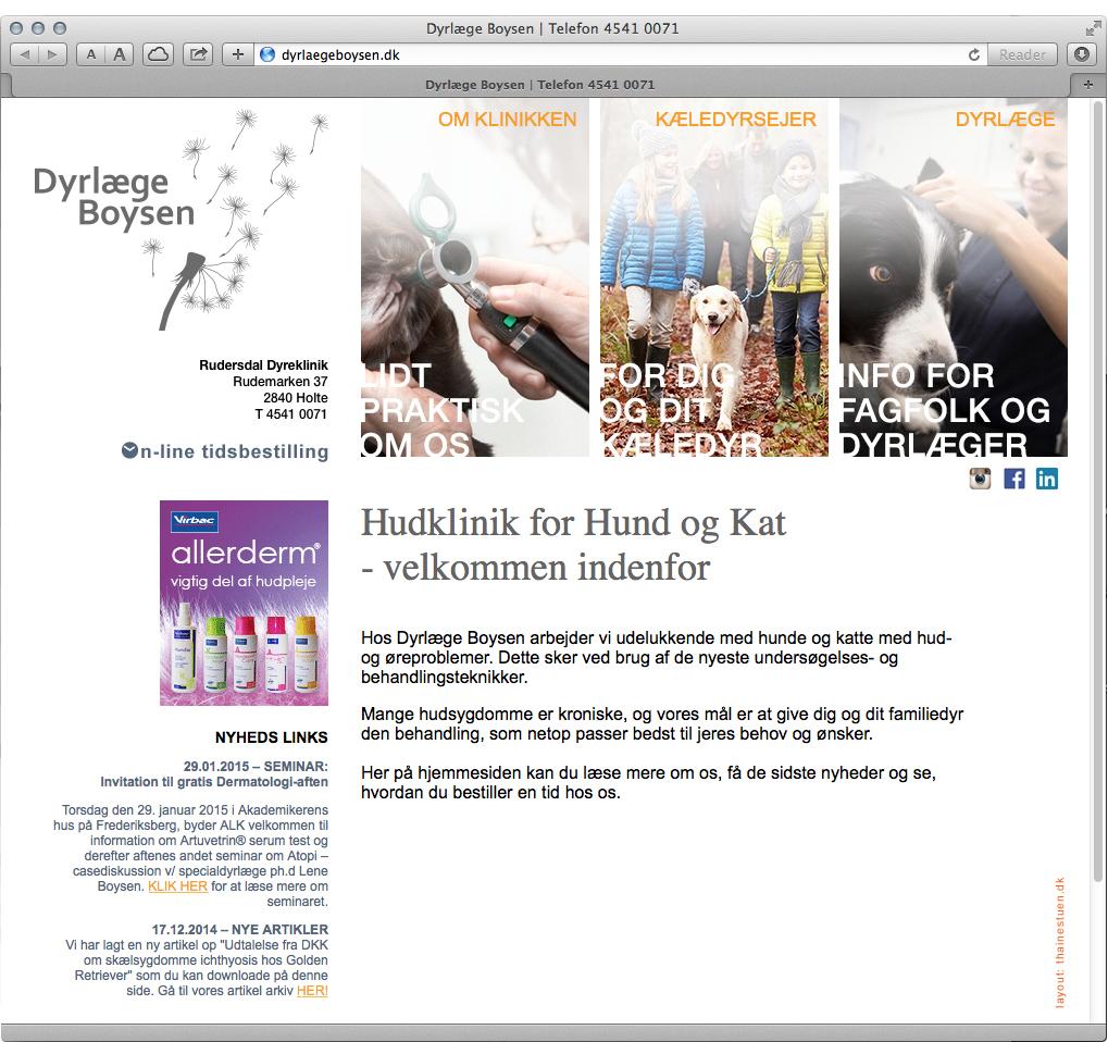 www.dyrlaegeboysen.dk