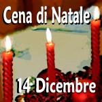 cena di Natale 14 dicembre