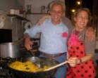 cena di autofinanziamento spagnola