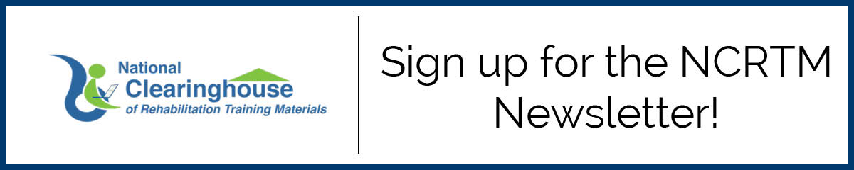 Sign up for the NCRTM Newsletter!