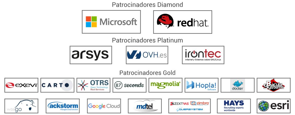 Patrocinadores OpenExpo 2017