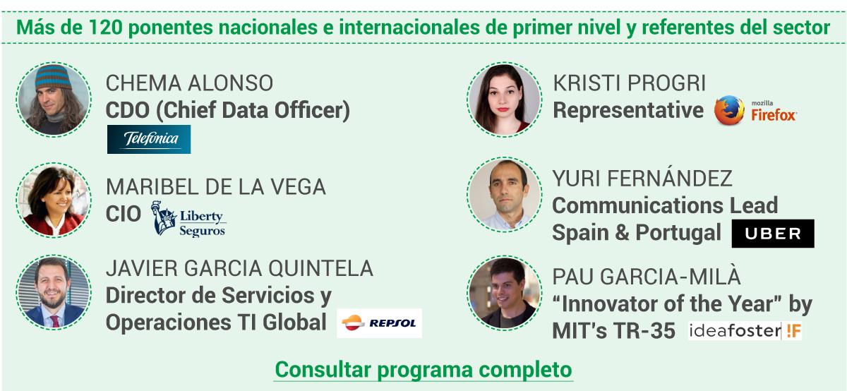 Programa y horario OpenExpo 2017