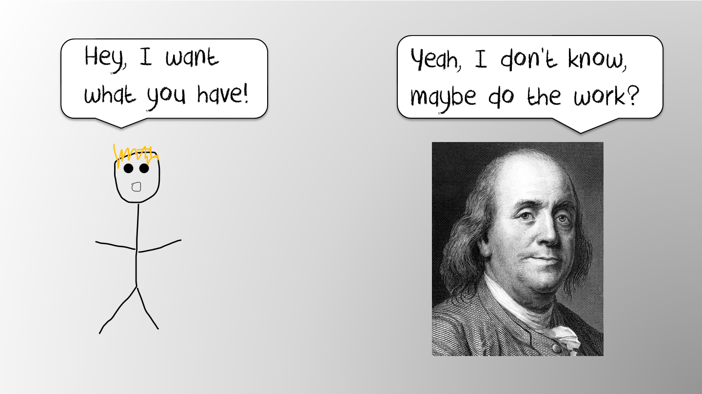 Getting back to basics with Ben Franklin