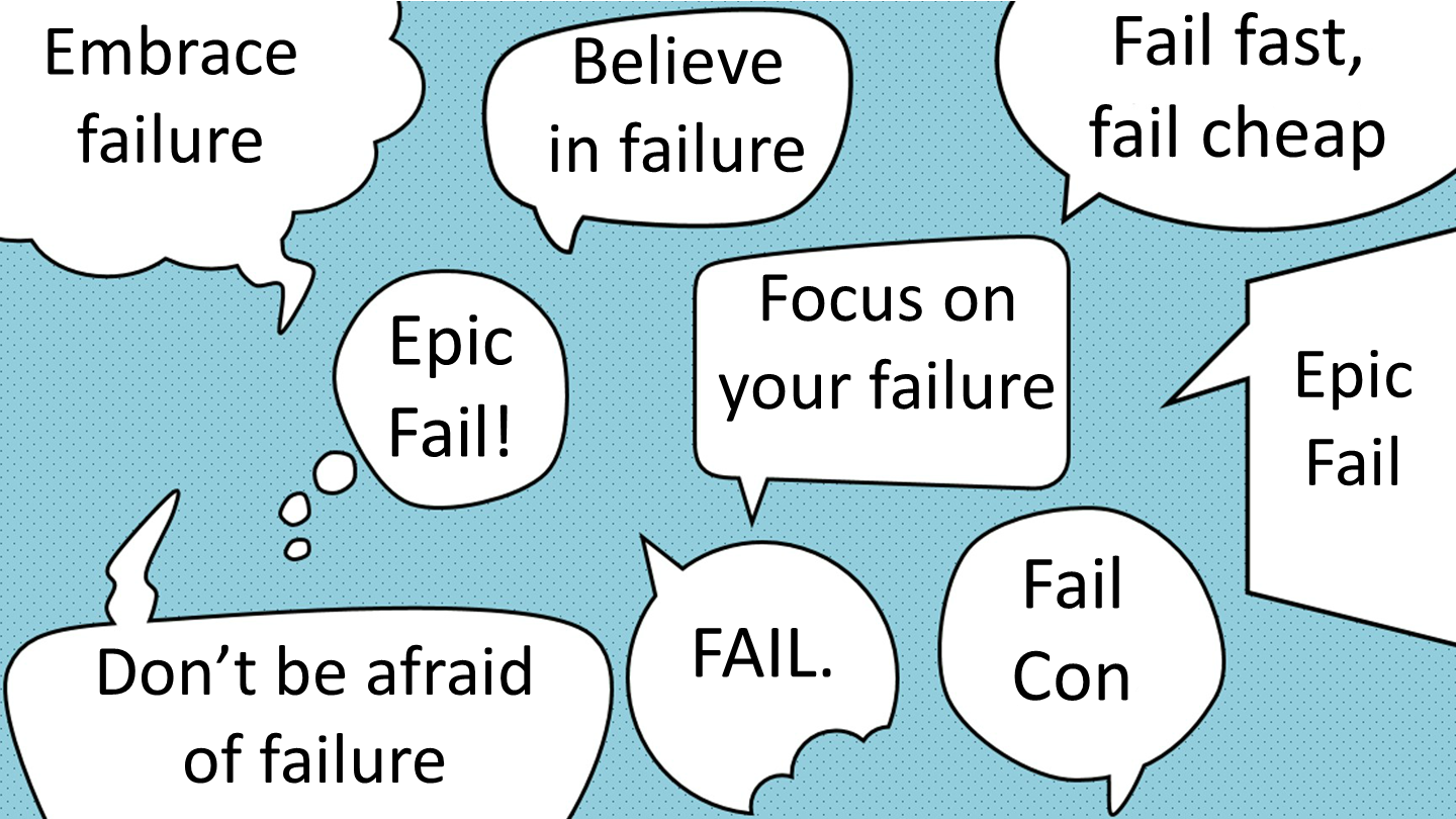 Stop talking about failure