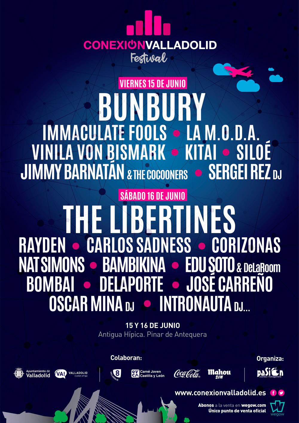 Venta de entradas - Conexión Valladolid Festival
