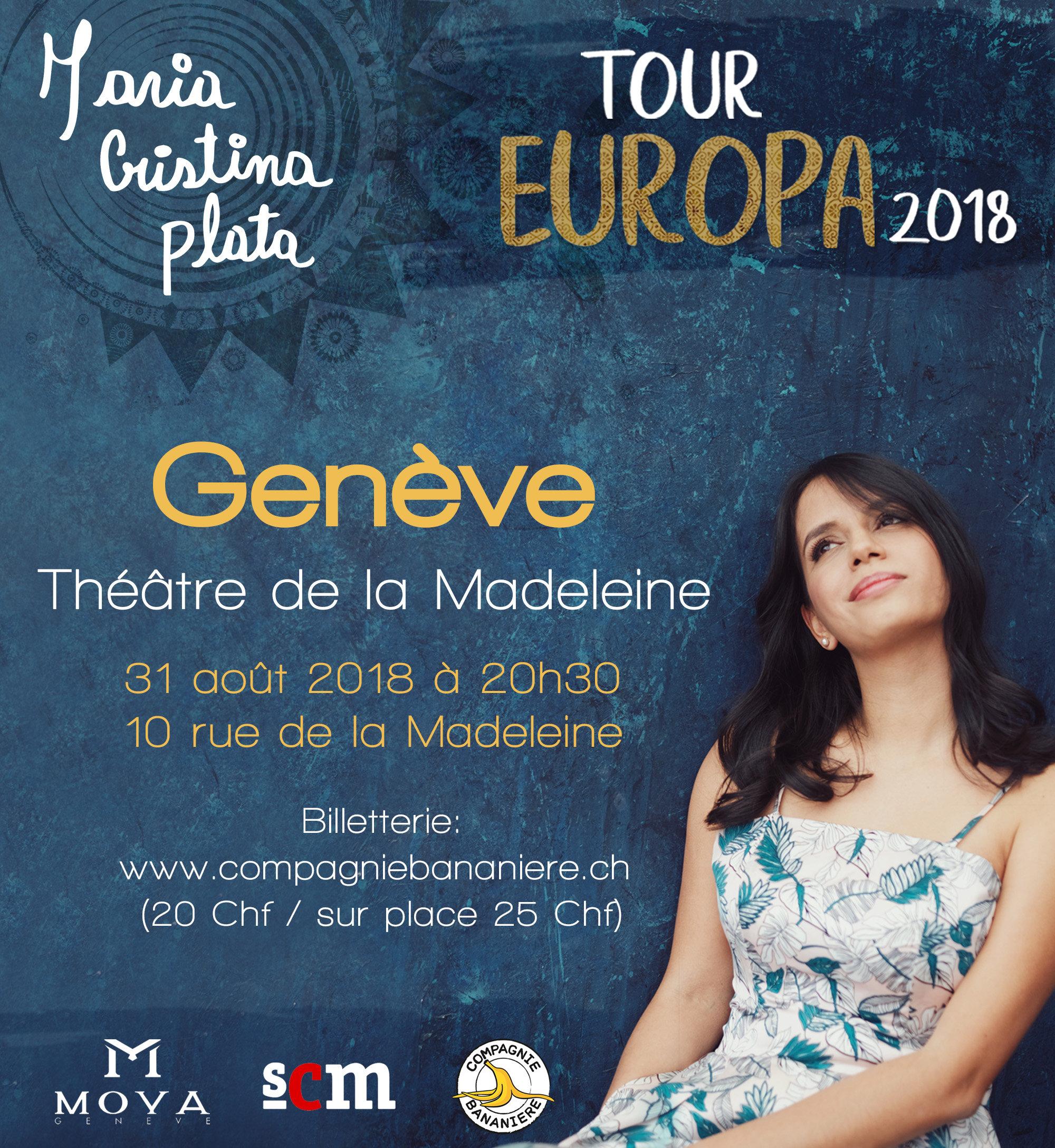 Concert Concert de Maria Cristina Plata