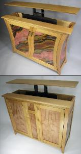 Hayden's TV Lift Cabinets