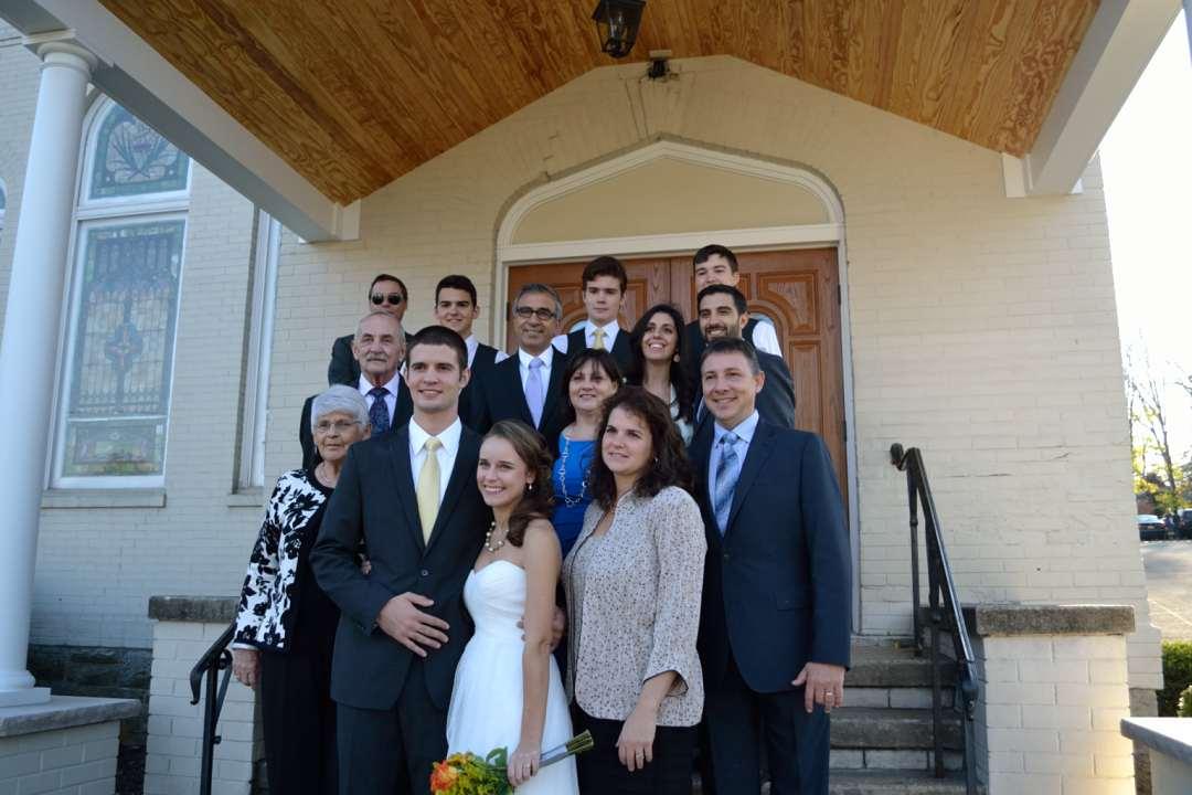 Eric's immediate family