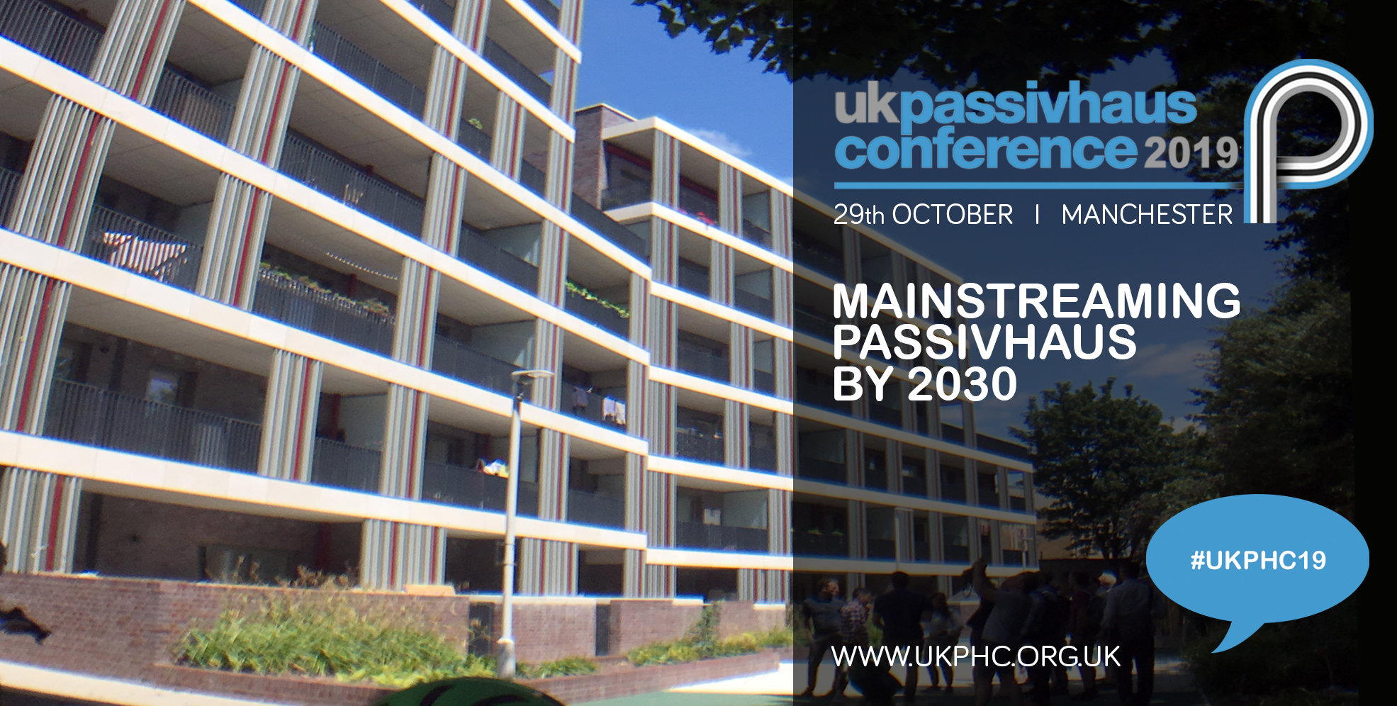 Mainstreaming Passivhaus by 2030: 2019 UK Passivhaus Conference. Image Agar Grove
