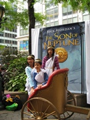 Heroes of Olympus Author Appears at Greeley Square
