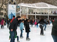 Last Chance to Skate at Citi Pond