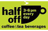 coffee & tea happy hour at 'wichcraft