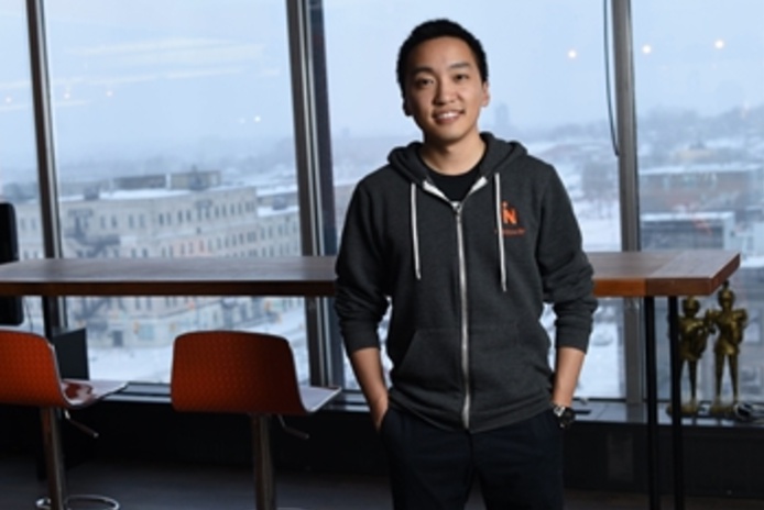 Hongwei Liu, CEO of MappedIn,