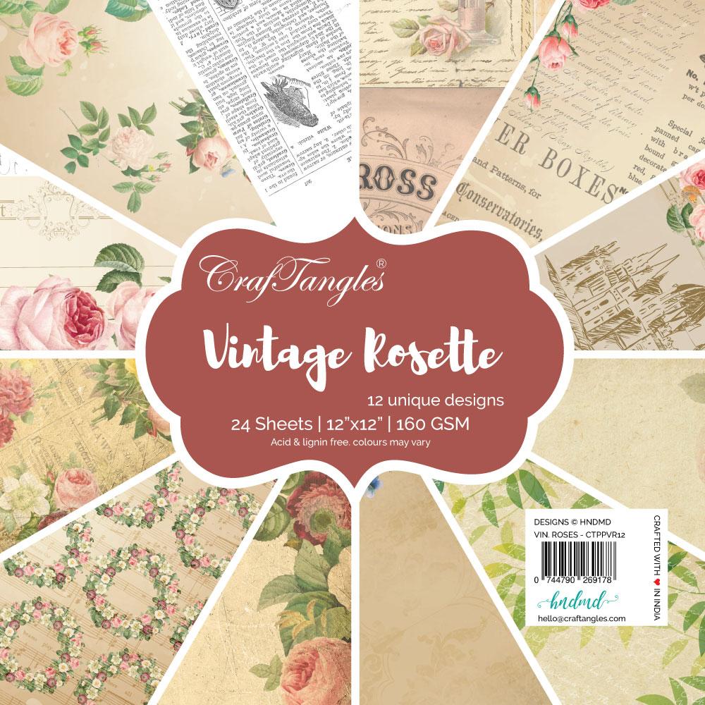 Vintage Rosette
