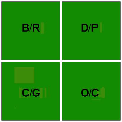 4-square color status