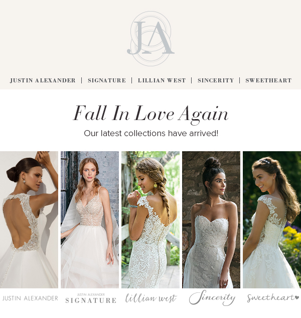 Fall in love again - our latest collections have arrived!