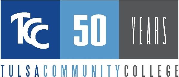 TCC 50 Years logo