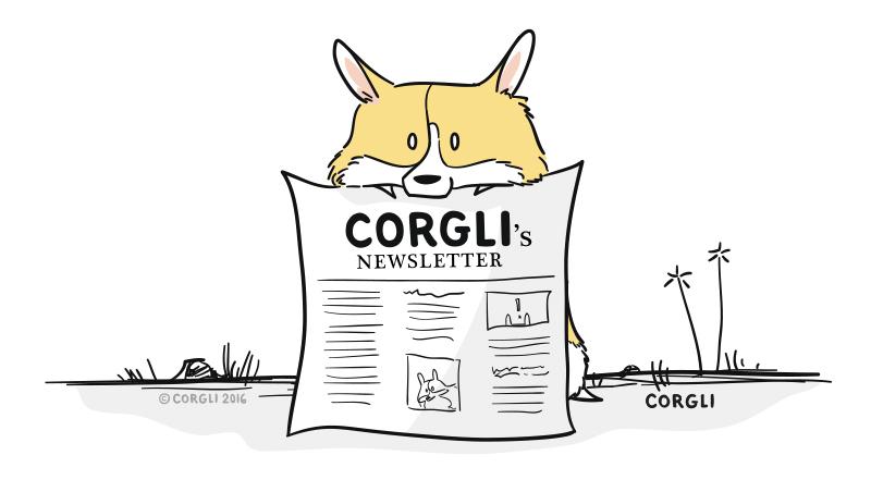 Corgli's Newsletter.