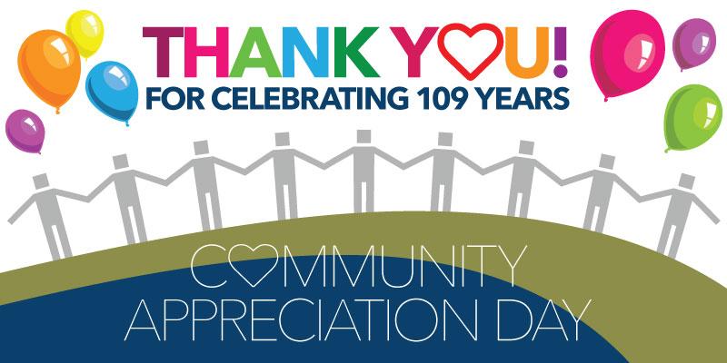 Thank You - Community Appreciation Day