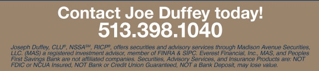 Contact Joe Duffey