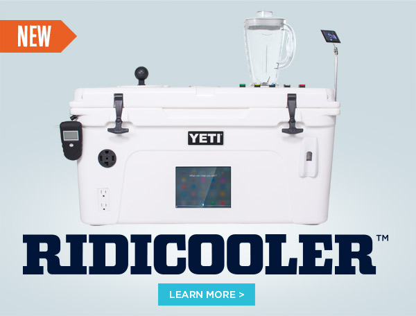 New YETI Ridicooler