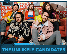 The Unlikely Candidates band photo